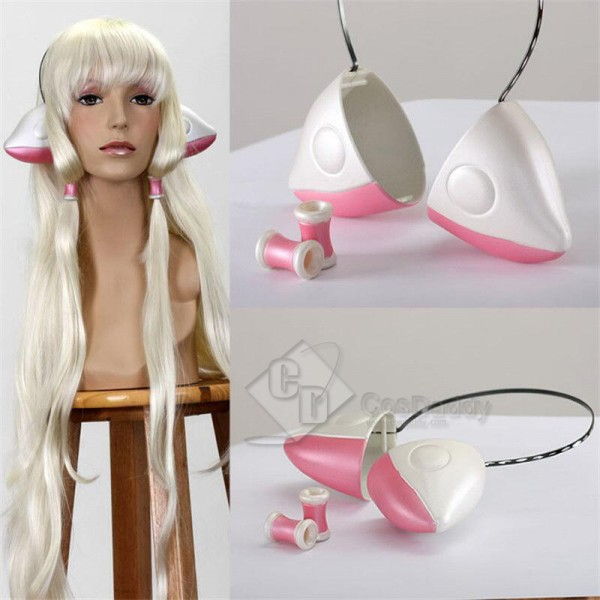 Chobits Chi Chii Cosplay Prop Costume Ears Cute Ka...