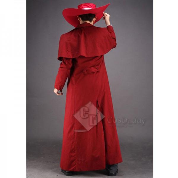 HELLSING Alucard Vampire Hunter Cosplay Costume