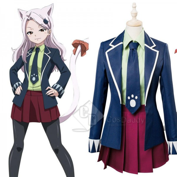 Fairy Tail Final Season Charle Cosplay Costume