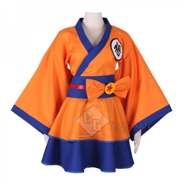 Dragon Ball Son Goku Lolita Dress Cosplay Costume