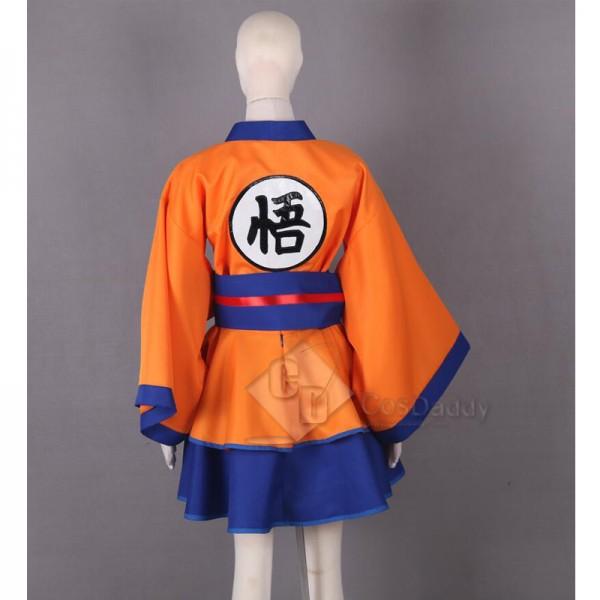 Dragon Ball Son Goku Lolita Dress Cosplay Costume