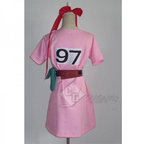 Dragon Ball Z Bulma Pink Dress Cosplay Costume