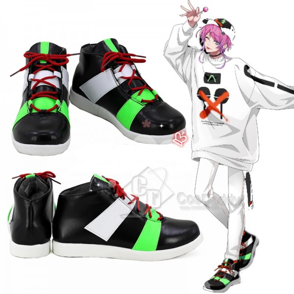 Hypnosis Mic Division Rap Battle DRB Amemura Ramuda Cosplay Shoes