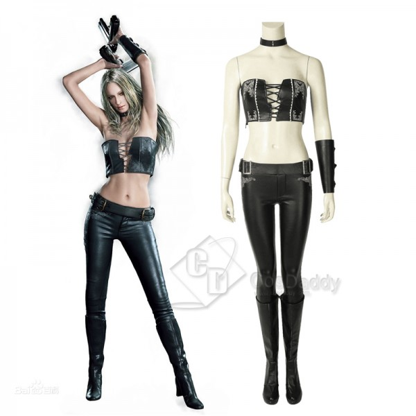 Devil May Cry 5 DMC Trish Gloria Cosplay Costume