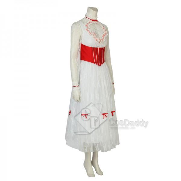 Mary Poppins Mary Jolly Dress Cosplay Costume