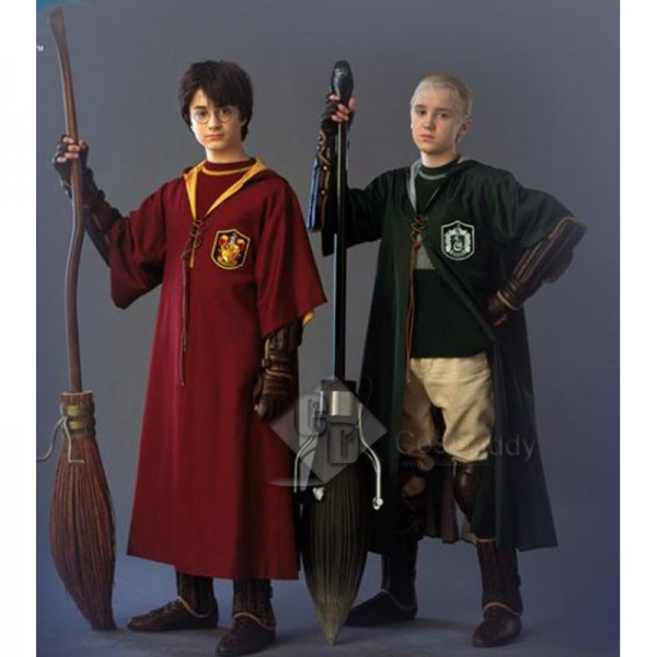 Harry Potter Quidditch Robe Boys Cape Cloak Cospla...
