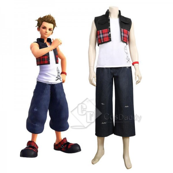 Kingdom Hearts III 3 Hayner Cosplay Costume