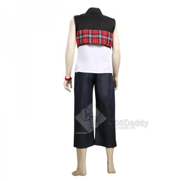 Kingdom Hearts III 3 Hayner Cosplay Costume