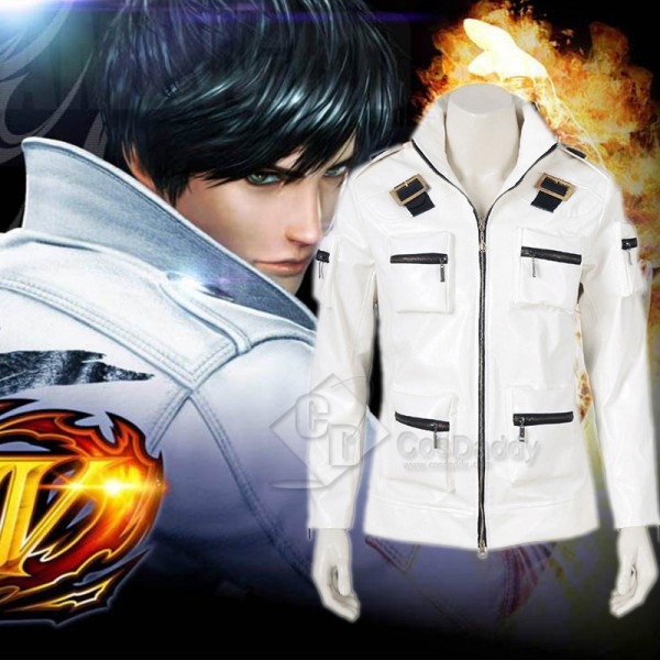 The King of Fighters XIV 14 KYO KUSANAGI Coat Cosp...