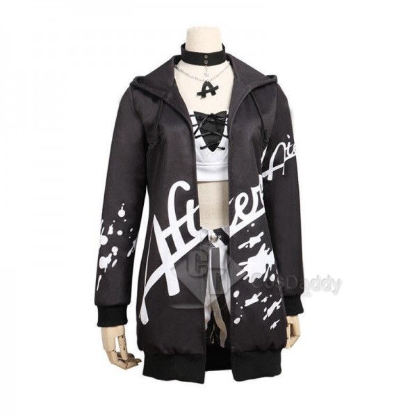 BanG Dream ! Afterglow second key visual Aoba Moca Cosplay Costume