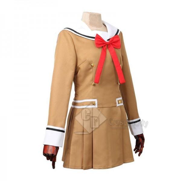 BanG Dream ! Poppin'Party Tae Hanazono Uniform Cosplay Costume