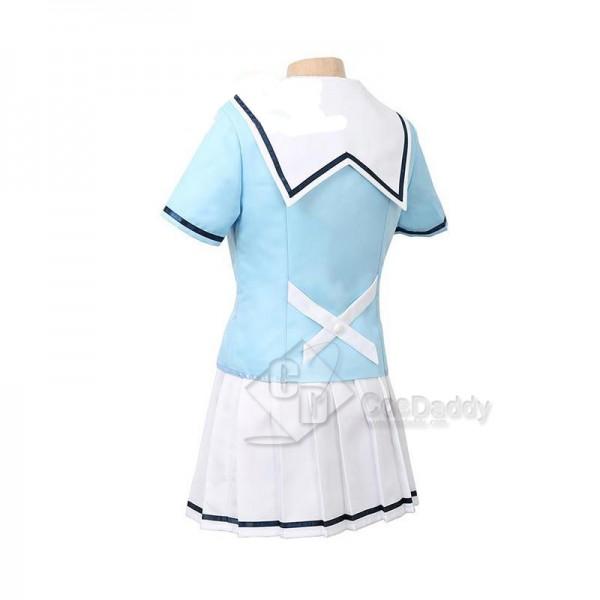 BanG Dream ! Poppin'Party Tae Hanazono Yamabuki Saya Uniform Cosplay Costume