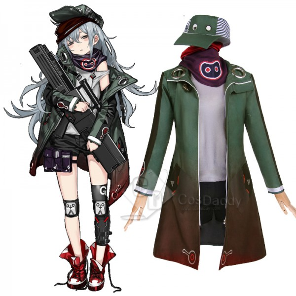 Girls Frontline HK G11 Cosplay Costume