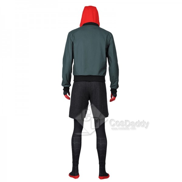 Spider-Man: Into the Spider-Verse Miles Morales Cosplay Costume