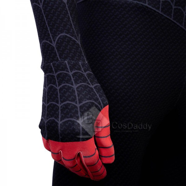 Spider-Man: Into the Spider-Verse Miles Morales Jumpsuit Cosplay Cosplay