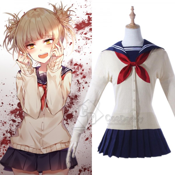 My Hero Academia Himiko Toga Shool Sweater Cardiga...