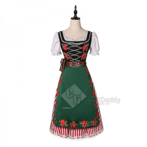 My Hero Academia Tsuyu Asui Lolita Dress Cosplay Costume