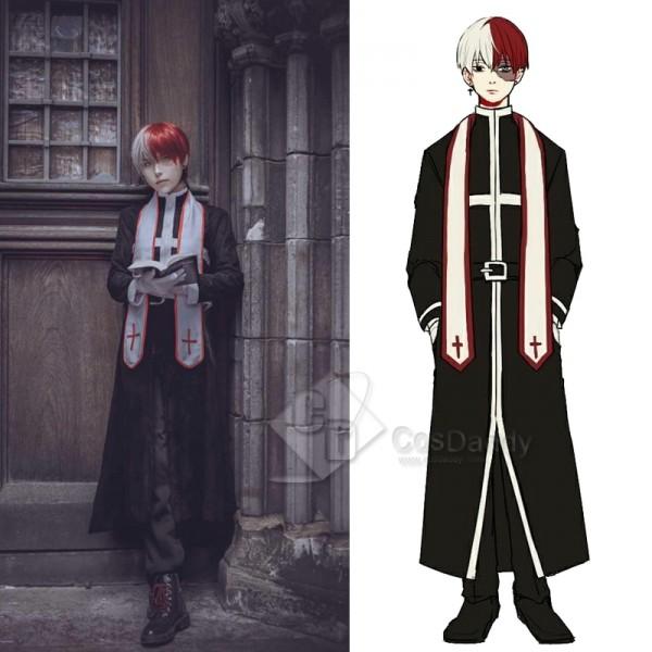 My Hero Academia Todoroki Shoto Uniform Cosplay Costume