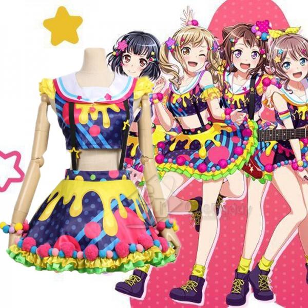 BanG Dream! Poppin'Party Toyama Kasumi Cosplay C...