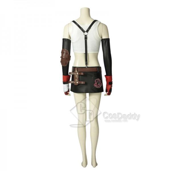 Final Fantasy VII FF7 Tifa Lockhart Cosplay Costume