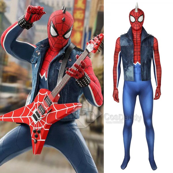 Marvel's Spider-Man Spider-Punk Spiderman Punk R...