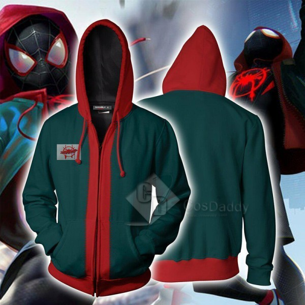 Spider-Man Into The Spider-Verse Miles Morales 3D ...