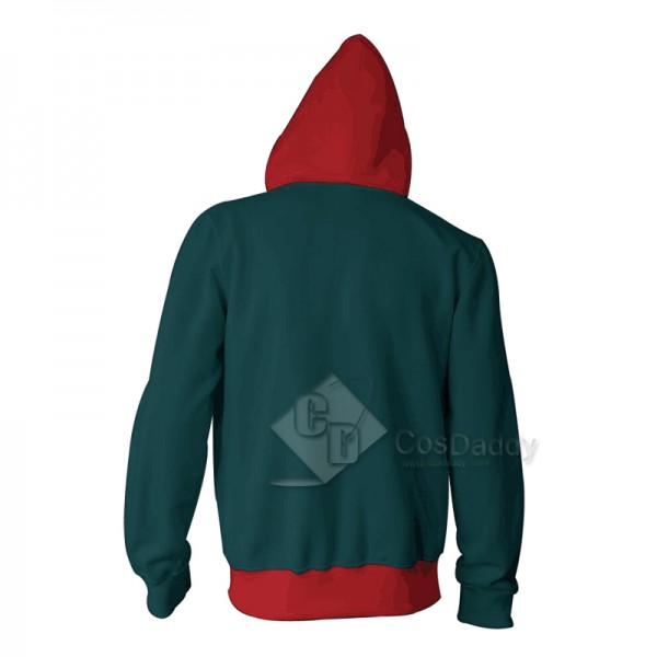 Spider-Man Into The Spider-Verse Miles Morales 3D Sweatshirt Hoodie