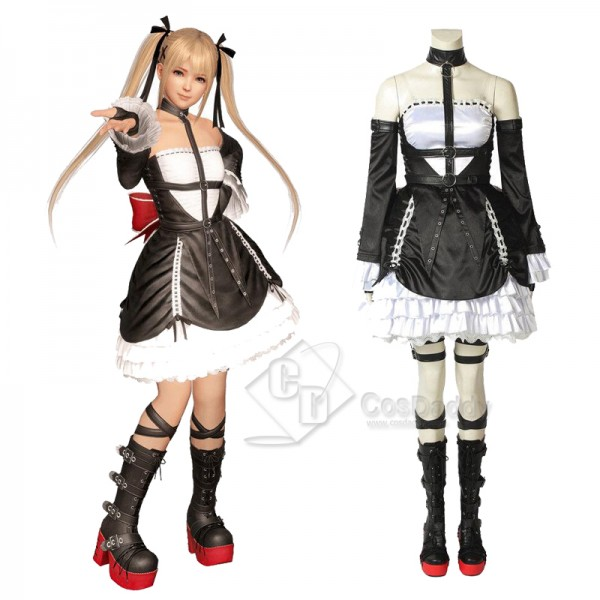 Dead or Alive 6 Marie Rose Lolita Dress Cosplay Co...