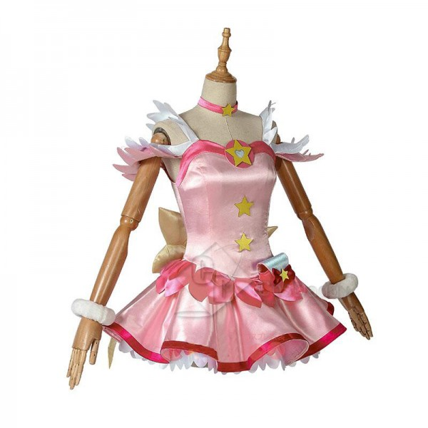 Star Twinkle Precure Hoshina Hikaru Cure Star Cosplay Costume