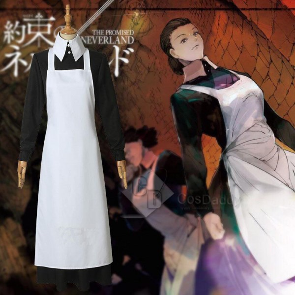 The Promised Neverland Isabella Maid Dress Cosplay...