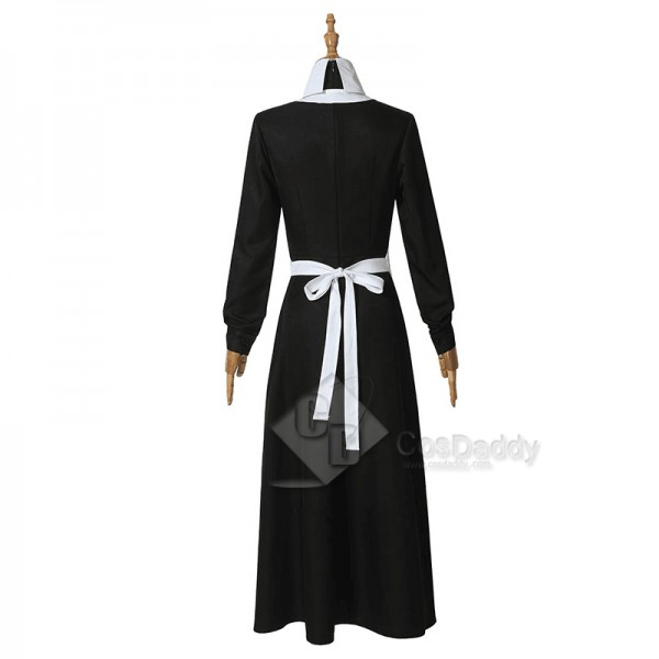 The Promised Neverland Isabella Maid Dress Cosplay Costume
