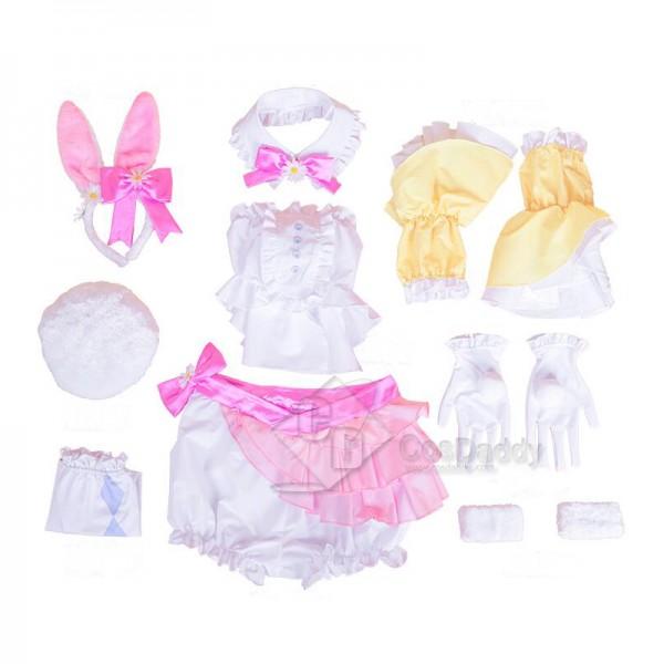 Vocaloid Hatsune Miku Bunny Girl Cosplay Costume