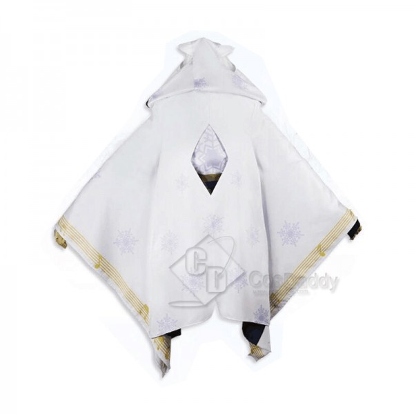 Vocaloid Hatsune Miku Snow Witch Kimono Cosplay Costume