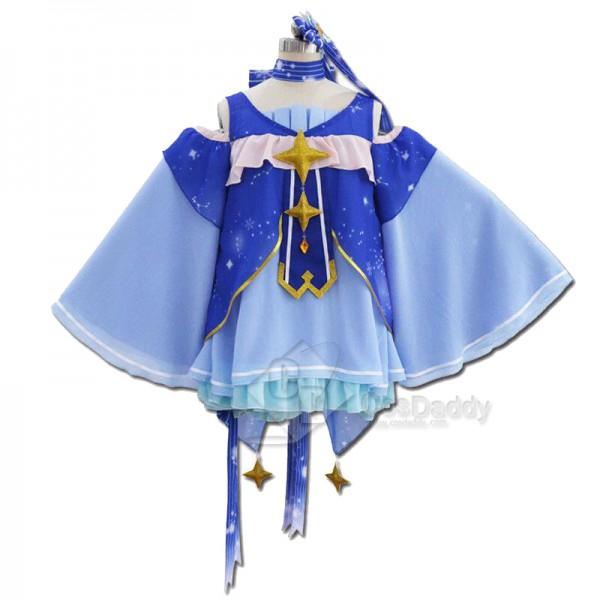 Vocaloid Hatsune Miku Snow Miku Cosplay Costume