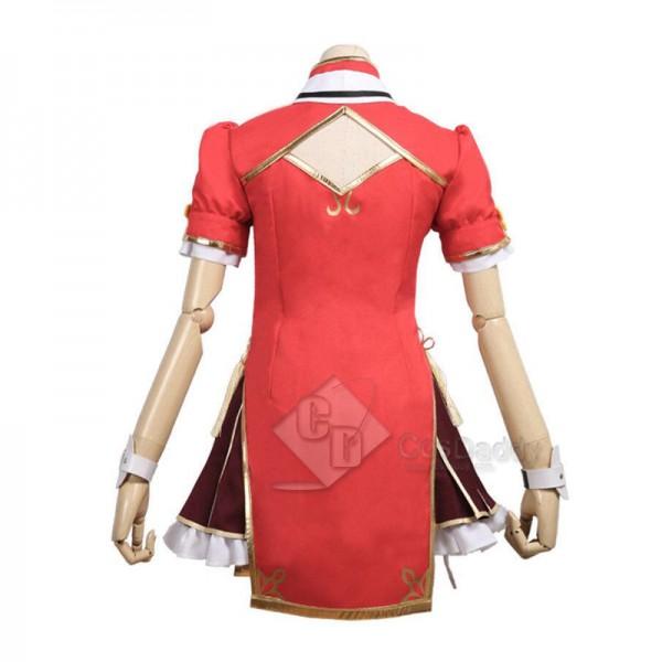 Kizuna AI YouTuber Tanaka Hime Dress Cosplay Costume