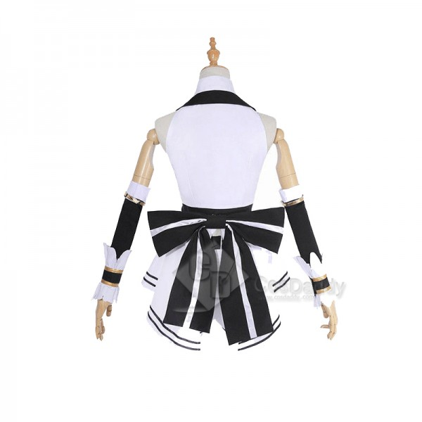 YouTuber Channel Virtual Kizuna AI Uniform Dress Cosplay Costume