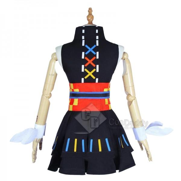 Virtual YouTuber Kizuna AI Kaguya Luna Cosplay Costume