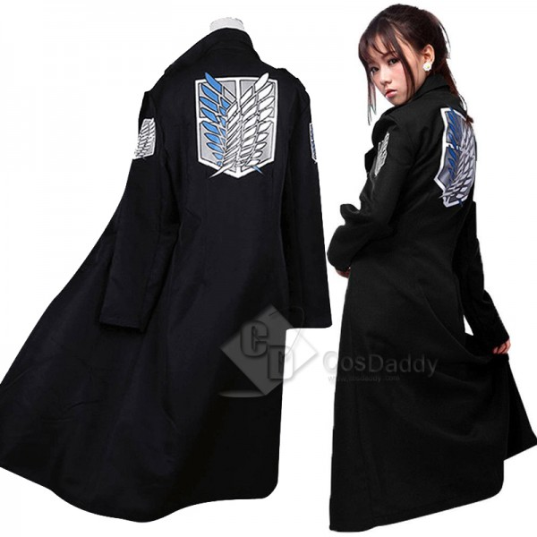 Attack on Titan Levi Rivaille Jacket Cloak Cosplay...