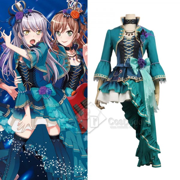 BanG Dream ! Roselia Minato Yukina Cosplay Costume
