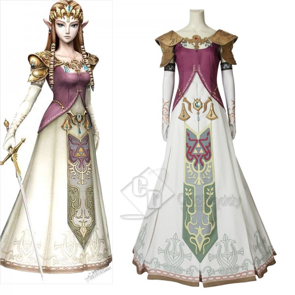 The Legend of Zelda: Twilight Princess Dress Cospl...