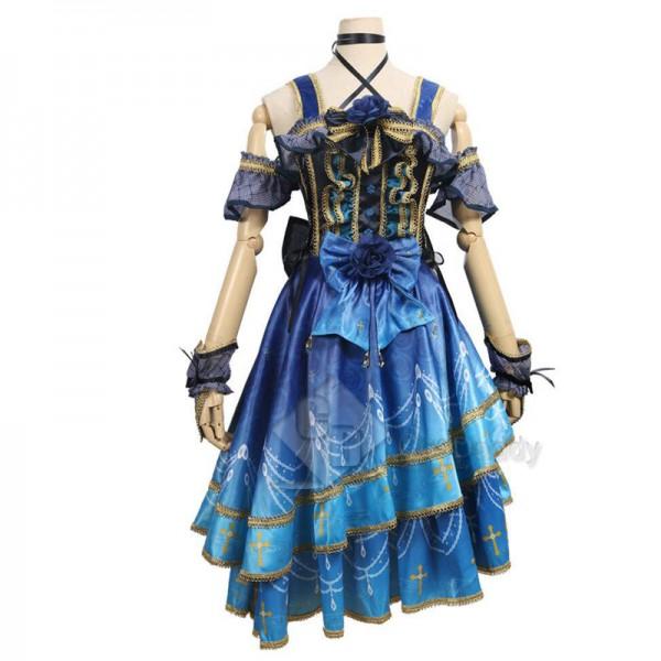 BanG Dream Roselia 4th Single Lisa Imai Dress Cosplay Costume