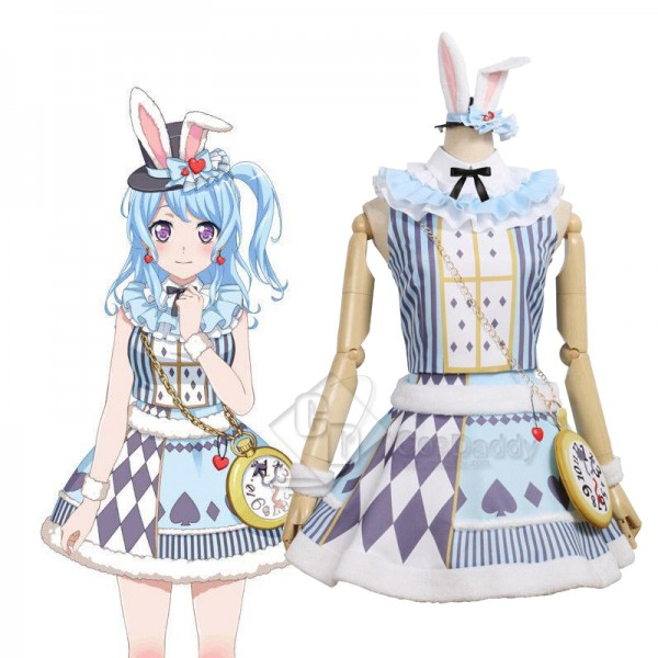 BanG Dream Matsubara Kanon Dress Cosplay Costume