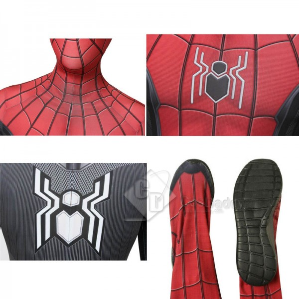 Spider-Man: Far From Home Peter Parker Jumpsuit Cosplay Costume