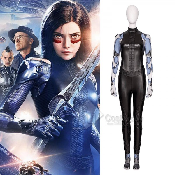 Alita: Battle Angel Battle Angel Full Set Cosplay ...