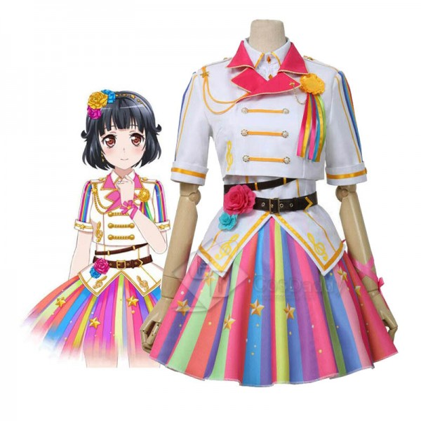 BanG Dream! Poppin'Party 9th Single Ushigome Rimi Cosplay Costume