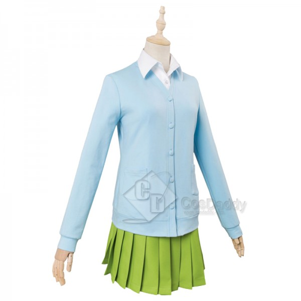 The Quintessential Quintuplets Nakano Miku Cosplay Costume
