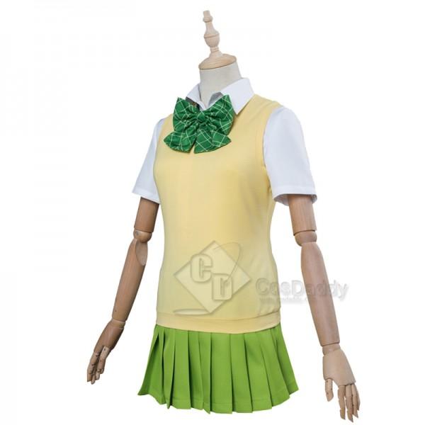 The Quintessential Quintuplets Nakano Yotsuba Cosplay Costume