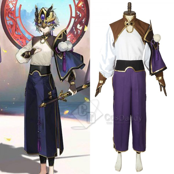 FGO Fate Grand Order Saber Lan Ling Wang Cosplay C...