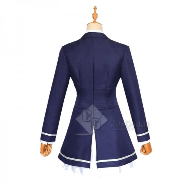 ZOMBIE LAND SAGA Minamoto Sakura Cosplay Costume