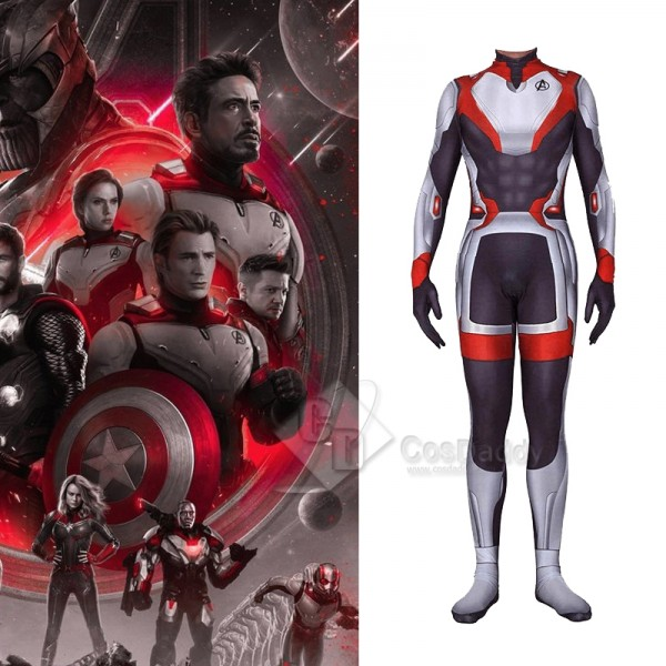 Avengers 4 Endgame Quantum Realm Jumpsuit Cosplay ...